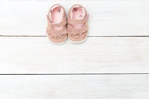 Lovely shoes for baby girl.