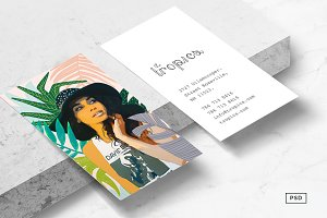 Travel + Lifestyle Business Card