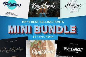 Mini Font Bundle - Typia Nesia