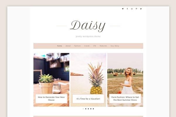 Daisy Theme • Genesis Framework
