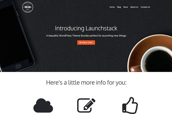WordPress Business Themes: Mint Themes - Launchstack Theme Bundle