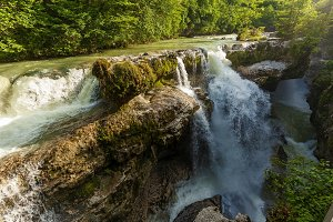 Waterfall in Georgia.