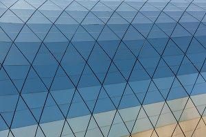 Glass texture of Georgia Tbilisi