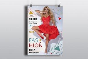 Fashion Week Flyer Template-V752