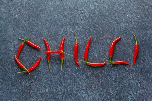 """""""chilli"""" from chili peppers"""
