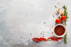 Hot sauce ingredients