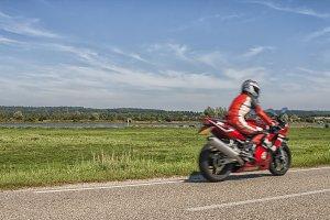 Summer motorbike ride