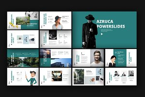 Azruca Powerpoint Templates
