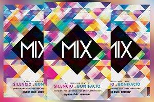 Mix Minimal Flyer