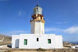 Lighthouse in Mykonos