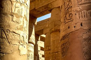 Hypostyle Hall at the Karnak temple