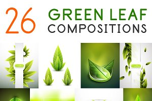 26 green leaf compositions