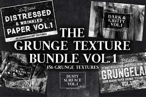 The Grunge Texture Bundle Vol. 1