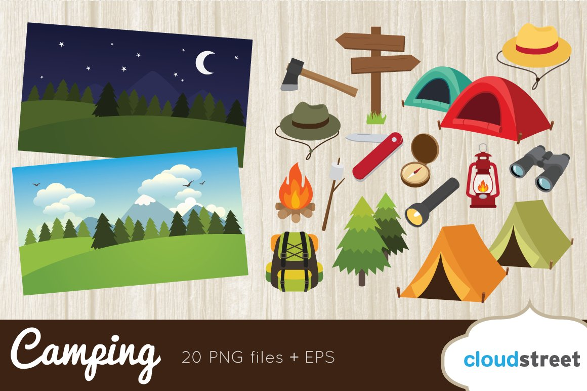 Camping Images Clip Art