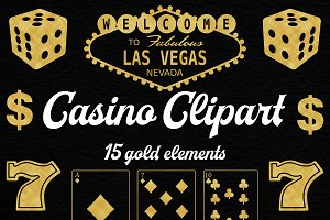 Gold Casino Clipart