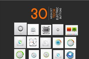 30 tech electric buttons