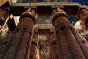 Luxor Temple & Tarantula Nebula