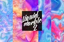 Liquid marble texture 2