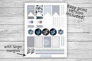 MAMBI Planner Printable Sticker Set
