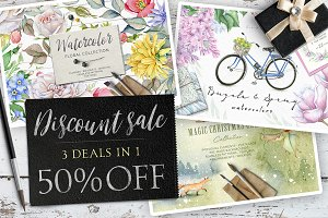 50%OFF - 3 deals in 1!