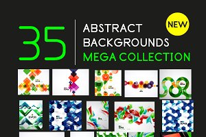 Abstract background mega collection