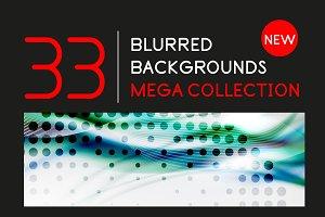 Blurred backgrounds mega collection