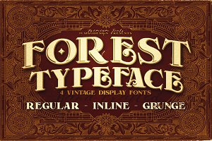 Forest - Display Font