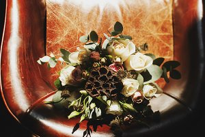 Original wedding bouquet