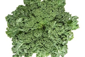 Kale cabbage Green vegetable leaves