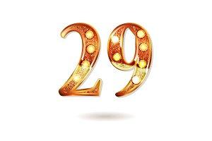 Celebrating of 29 years anniversary