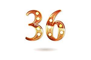36 years anniversary