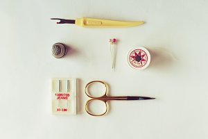 Kit for sewing.