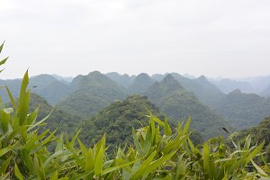Overview in Cat Ba Island