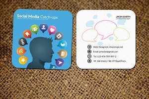 Small Business Card Mock Ups