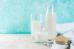 Vegan alternative non-dairy milk
