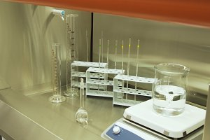 Laboratory and medical equipment.