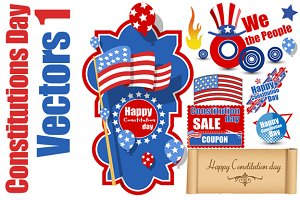 Constitution Day Vector Pack