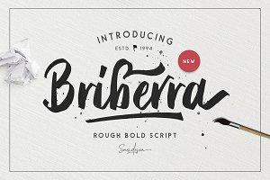 Briberra - Rough Bold Script