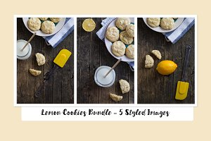 Lemon Cookies Mini Photo Bundle