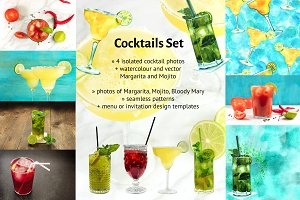 Cocktails Set