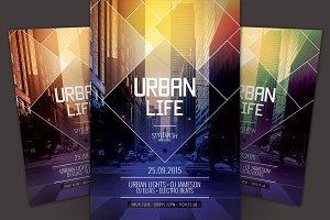 Urban Life Flyer