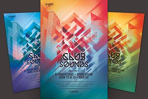 Club Sounds Flyer