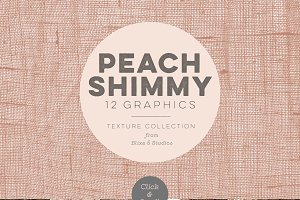 Peach Shimmy Digital Textures