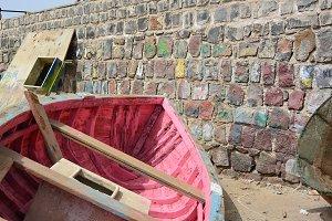 Rosa boat in Cap Verde