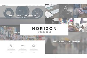 Horizon - Responsive WordPress Theme