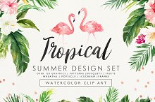 Summer Design Set-Tropical