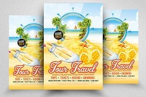 Tour & Travel Flyer Templates