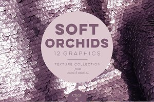 Soft Orchid Textured Backgrounds