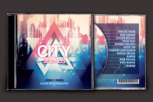 City Sounds CD Cover Artwork