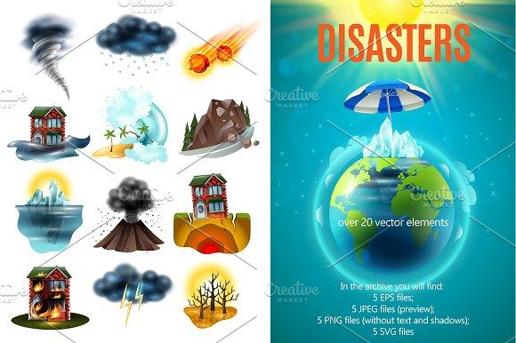 Natural Disaster Set